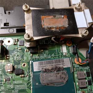 Laptop hardware onderhoud