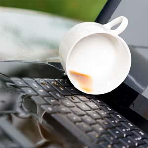 Laptop waterschade herstel reparatie